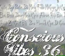 CONSCIOUS VIBES VOL 36 REGGAE ROOTS CULTURE LOVERS ROCK MIX CD