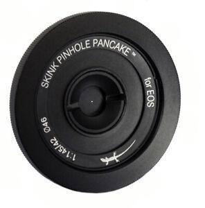 Skink Pinhole Pancake Pro Kit, Lochkamera modular Canon 90D, 9000D, 650D etc