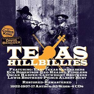 TEXAS HILLBILLIES / VARIOUS-TEXAS HILLBILLIES / VARIOUS CD NEUF