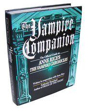 THE VAMPIRE COMPANION, Official Guide To Anne Rice's Vampire Chronicles, 1st Ed