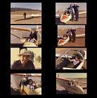 """8 ORIG PHOTOS! """"STAR TREK""""'S GENE RODDENBERRY & ME GLIDER  ADVENTURE"""