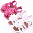 Baby Girl Toddler Daisy Flower Hollow Sandals Princess Crib Shoes First Walkers
