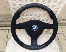 BMW e30, e34 e36 m5 m3  385mm steering wheel suede alcantara m tech m technic