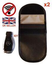 2x Lock Car Key Keyless Entry Anti-Theft Fob Signal Blocker Pouch Faraday Bag