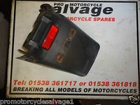 SYM XS 125 2012 2013 K:NUMBER PLATE HOLDER - REAR:USED MOTORCYCLE PARTS