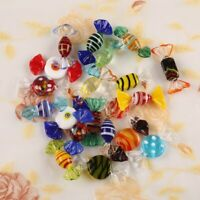 20Pcs Vintage Murano Glass Sweets Wedding Xmas Party Candy Decorations Gift US