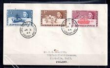 British Antarctic 1964 Postal History Cover Grahamland CDS WS15839