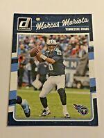 2016 Panini Donruss Football Base Card - Marcus Mariota - Tennessee Titans