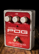 Electro-Harmonix Micro POG Polyphonic Octave Generator Pedal - Free Shipping