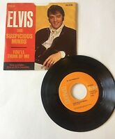 45 Record ELVIS PRESLEY - Suspicious Minds / You'll Think of Me - RCA Victor