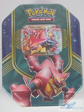 POKEMON TCG VOLCANION EX TIN 4 BOOSTER PACKS ONLINE CODE CARD