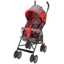 Poussettes, systèmes combinés et accessoires de promenade rouge pour bébé