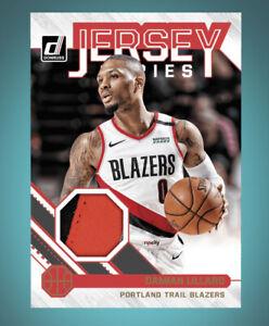 2020 Donruss Jersey Series Patch -DAMIAN LILLARD(Panini NBA DUNK digital Card