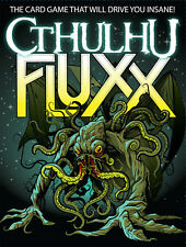 Cthulhu Fluxx Card Game - Brand new and sealed - from Looney Labs
