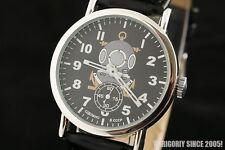 Pobeda vintage Russian USSR diving helmet rare wrist watch ZIM2602