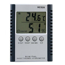 In/Outdoors Car Digital Thermometer Hygrometer Temperature Humidity Meter