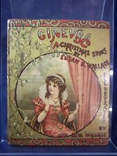 Ginevra or the Old Oak Chest A Christmas Story Susan Wallace (1887) HB G+ 180630