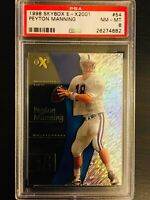 PSA 8/ NM-MT! 1998 E-X2001 PEYTON MANNING Rookie Card #54  COLTS/ BRONCOS/ HOF