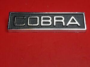 NOS Ford 1969 1970 Mustang Shelby Torino Cobra Emblem C9OZ-6542528-A