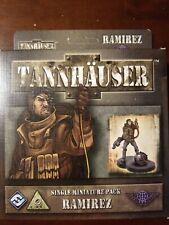 Tannhauser -  Ramirez   Single Miniature Pack  - New Sealed - shipping discounts