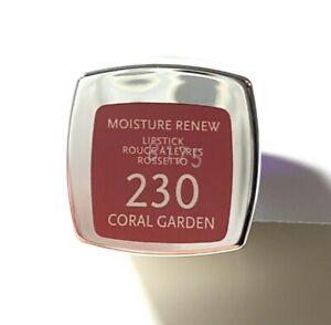 New Rimmel London Moisture Renew Lipstick #230 Coral Garden