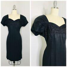 New listing Vintage 90s Y2K Casual Corner Black Shift Dress Size M Medium Usa Cocktail Prom