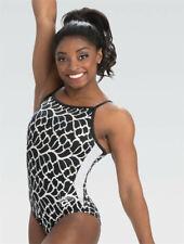 New NWT E4050 Frozen Lace Simone Biles GK ™ gymnastics leotard Free Scrunchie CL