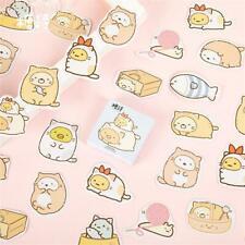 45pcs Kawaii Cat Paper Stickers Scrapbooking Diary Planner Journal  DIY Sticker