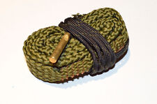 9mm Bore snake Cleaner .380 .38 357 Cal Bore Gun Cleaning Rope with brush
