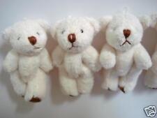 10 Craft Mini Teddy Bear 4cm Applique/cute doll/Party Favors/kid/baby H139-White