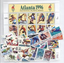 US Olympic Set - Winter & Summer - 1932-2010 - Singles, Blocks, Strips - MNH*