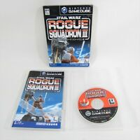 Game Cube STAR WARS ROGUE SQUADRON III 3 Nintendo Gamecube JAPAN Video gc