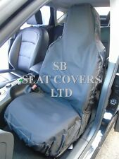 TO FIT A  FORD FIESTA, CAR SEAT COVERS - WATERPROOF BLACK
