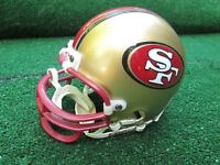 NFL San Francisco 49ers Mini Riddell NFL Helmet Very Good Pre Owned Condition