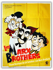 Affiche 120x160cm LES MARX BROTHERS (1939) Released By MGM R1970 NEUVE (#)