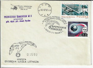 Poland, Aerospace cover. 1988 60th anniv. of flying generations.cxls (PA28)