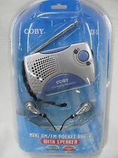 CX-5 Coby Mini Portable Pocket Radio Emergency Camping Survival Prepper EB0706