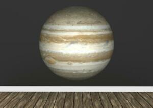 Jupiter Planet Space Realistic Science  Wall Art Sticker Decal Transfer Mural