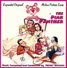 """Henry Mancini:  """"Pink Panther / Son Of The Pink Panther"""" + Bonus (2on1 Score CD)"""
