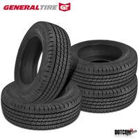 4 X New General Grabber HD 195/75R16C/8 107R Tires