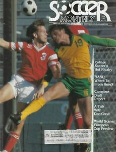 February 1981 Soccer Monthly Magazine - Indiana Hoosiers NCAA Soccer on Cover