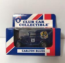 AFL CARLTON BLUES Car Collectibles Model A Ford 1995 Matchbox Toys NEW