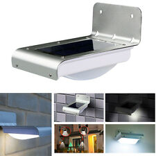 16 LED Solar Power Motion Sensor Outdoor Waterproof Light Garden Security Lamp