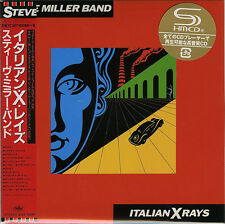 STEVE MILLER BAND-ITALIAN X RAYS-JAPAN MINI LP SHM-CD Ltd/Ed G00