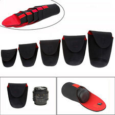 5pcs Neoprene Camera Lens Soft Protector Pouch Bag Case for Canon DSLR S-XXL