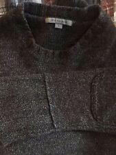 Heavy guage John Varvatos cashmere sweater sz Large