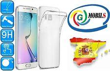 Funda gel TPU transparente carcasa para Samsung Galaxy S6 Edge Plus Vnm