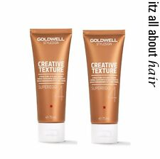 GOLDWELL StyleSign Superego 4 Creative Texture Structure Styling Cream 75ml x 2