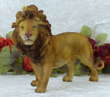 Löwe Skulptur Figur Tierfigur Afrika Lion Raubkatze Deko Statue Gartenfigur Neu