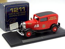 Eligor 1/43 - Ford V8 1932 Tudor Omaha Pompieri